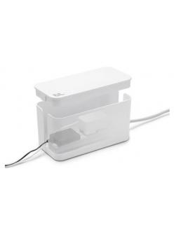 Бокс для проводов Bluelounge CableBox Mini Cable Management Box White (CBM-WH)