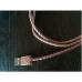 Кабель PlusUs Lifestar Premium Cross Rose Gold (LST2113100) Lightning to USB Cable 1m Пожизненная Гарантия от Производителя