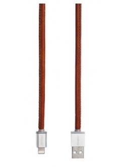 Кабель PlusUs Lightning to USB Cable LifeStar Vintage Tan 1.0 m (LST2001100) Пожизненная Гарантия от Производителя