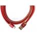 Кабель PlusUs Lightning to USB Cable LifeStar Ruby Sunset 1.0 m (LST2005100) Пожизненная Гарантия от Производителя