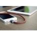 Кабель PlusUs Lightning to USB Cable LifeStar Fuzzy Mocha 1.0 m (LST2007100) Пожизненная Гарантия от Производителя