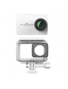 Экшн-камера Xiaomi Yi 4K Pearl White International Edition + Waterproof box
