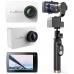 Экшн камера Xiaomi Yi 4K Pearl White + YI Handheld Gimbal