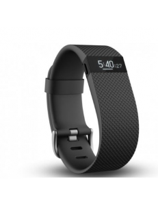 Фитнес-трекер Fitbit Charge HR Black Large (FBHRBKL)