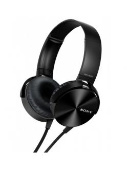 Наушники SONY MDR-XB450AP Black