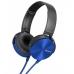 Наушники SONY MDR-XB450AP Blue