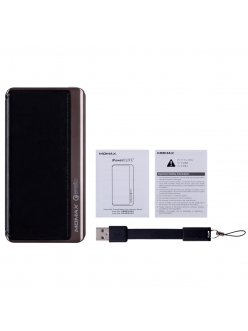 MOMAX iPower Elite+ External Battery Pack 8000mAh (MFI) QC2.0 Black (IP52MFID)