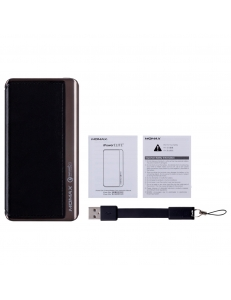 MOMAX iPower Elite+ External Battery Pack 8000mAh QC2.0 Black (IP52AD)