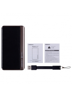 MOMAX iPower Elite+ External Battery Pack 8000mAh QC2.0 Emboss Black (IP52BD)