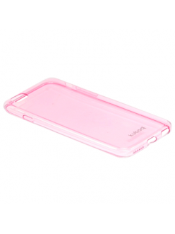 Чехол Kuboq для iPhone 6  Ultra Thin TPU Casewith screen protector Pink