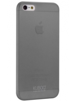 Чехол Kuboq для iPhone 5/5S Ultra-Slim, 0,30mm Grey