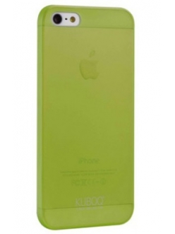 Чехол Kuboq для iPhone 5/5S Ultra-Slim, 0,30mm Green