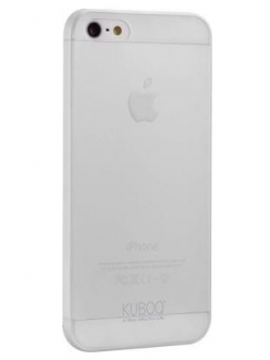 Чехол Kuboq для iPhone 5/5S Invisible TPU nano Transparent