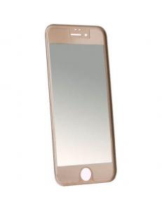 Титановое цветное защитное стекло Apple iPhone 6/6s Black