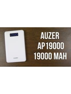 Внешняя ультратонкая полимерная батарея 19000 мАч White