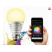 SUPERLIGHT Bluetooth Smart LED light bulb for iOS/Android Silver (SU-750S)